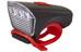 Cube LTD - Éclairage avant - white LED rouge/noir